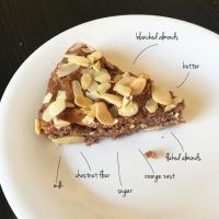 Chestnut Almond Cake (Torta Pisticcina)