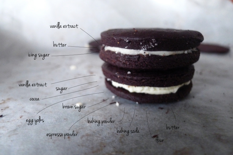 homemade oreos