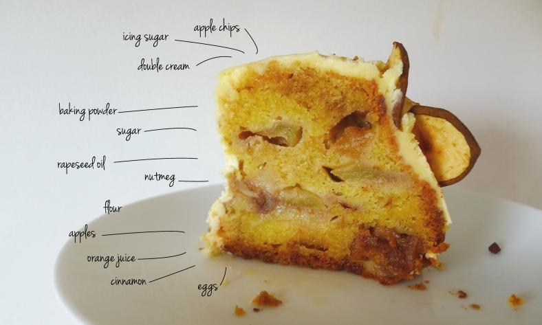 nice apple cake