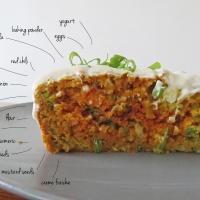Savory Carrot Cake