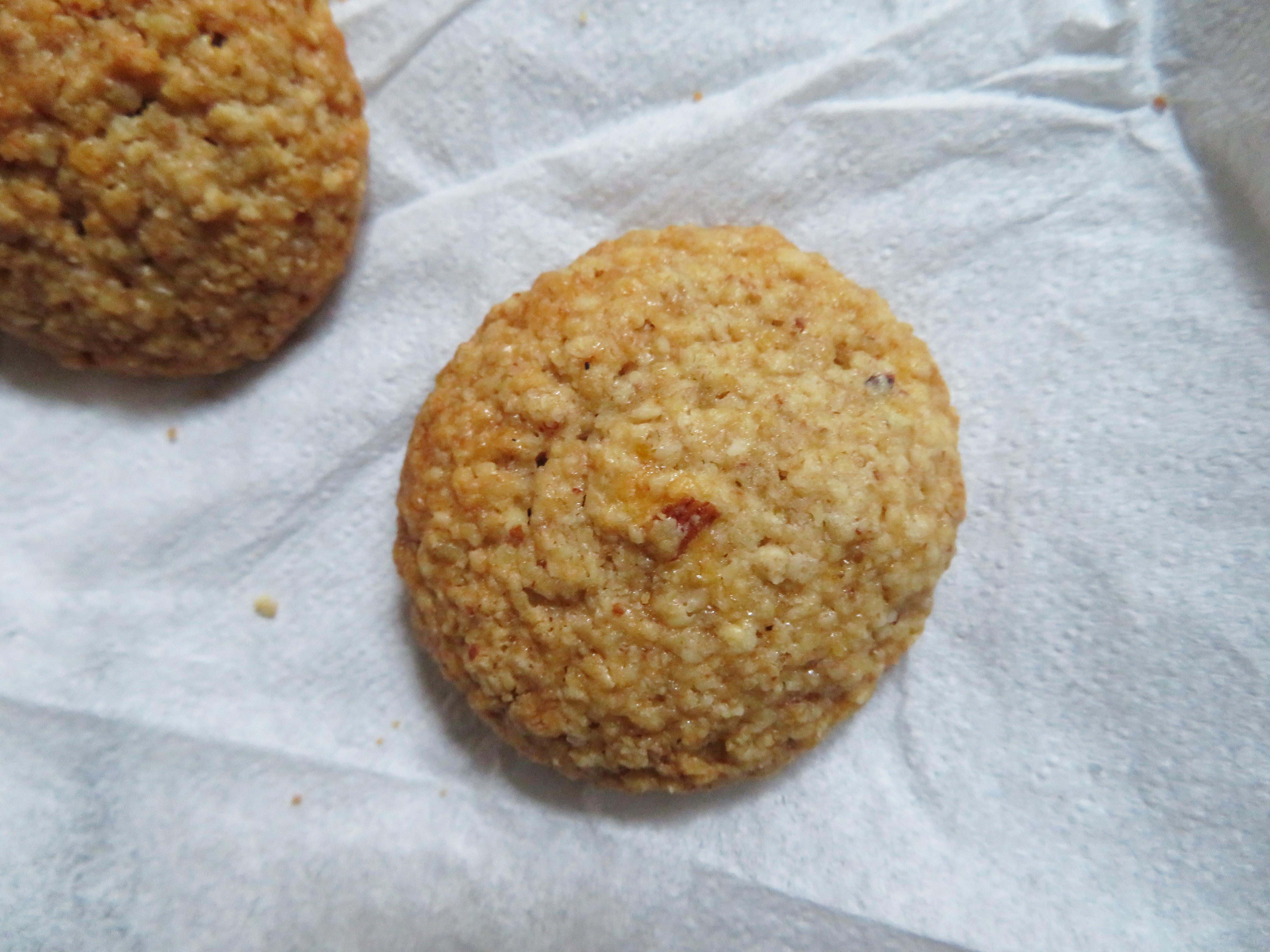 oat orange cookies